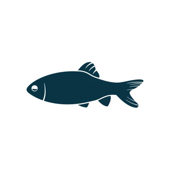 Marine Icons Vector 1 Vector Fish 1
