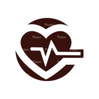 Medical Vector Elements Set 1 Vector Heartbeat Clip Art - SVG & PNG vector