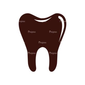 Medical Vector Elements Set 1 Vector Teeth Clip Art - SVG & PNG vector
