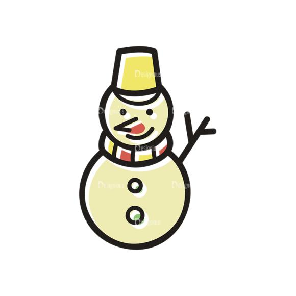 Merry Christmas Doodle Vector Set 7 Vector Snowman merry christmas doodle vector set 7 vector snowman
