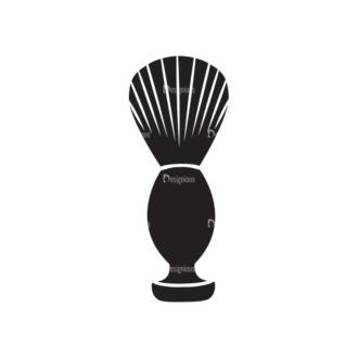 Metro Barber Shop Icons 1 Vector 05 Clip Art - SVG & PNG vector
