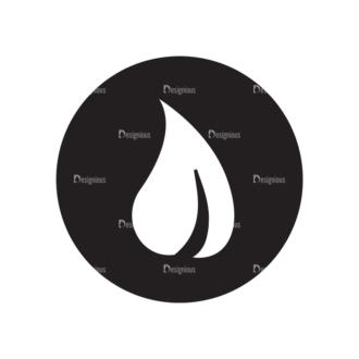 Metro Bicycle Shop Icons 1 Vector Drop Clip Art - SVG & PNG vector