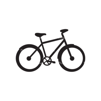 Metro Bicycle Shop Icons 1 Vector Bike 03 Clip Art - SVG & PNG vector