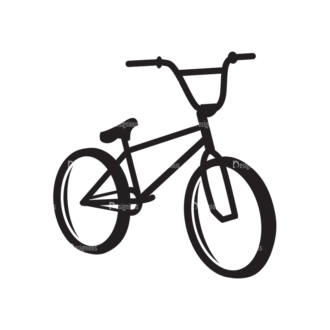 Metro Bicycle Shop Icons 1 Vector Bike 07 Clip Art - SVG & PNG vector