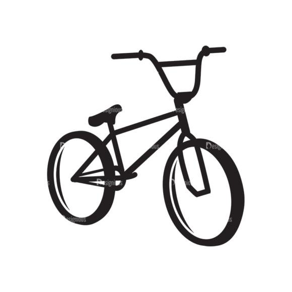 Metro Bicycle Shop Icons 1 Vector Bike 07 1