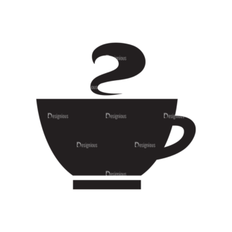Metro Drinks Icons 1 Vector Coffee 02 Clip Art - SVG & PNG vector