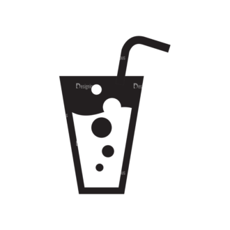 Metro Drinks Icons 1 Vector Drinks 09 Clip Art - SVG & PNG vector