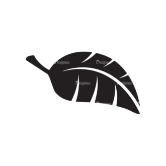 Metro Environment Set 1 Vector Leaf 04 Clip Art - SVG & PNG leaf