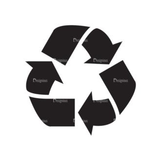 Metro Environment Set 1 Vector Recycle 01 Clip Art - SVG & PNG vector