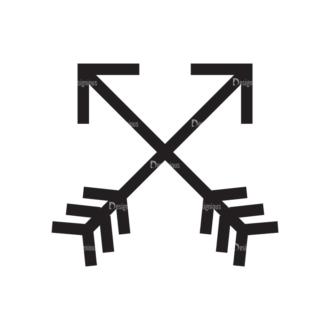 Metro Expedition Icons Set 1 Vector Arrow Clip Art - SVG & PNG vector