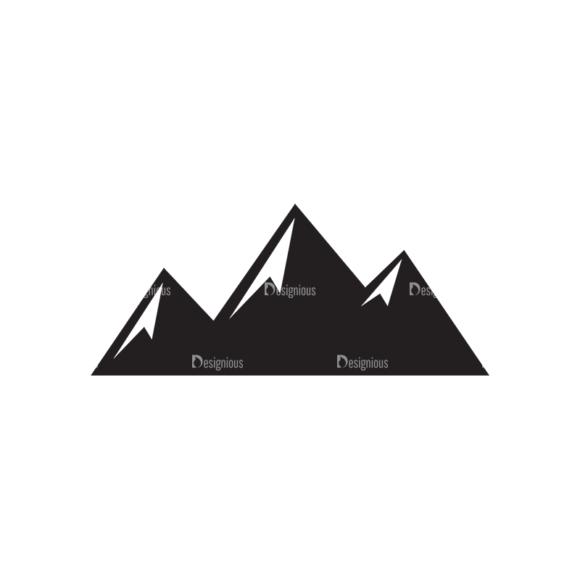 Metro Expedition Icons Set 1 Vector Mountain Clip Art - SVG & PNG vector