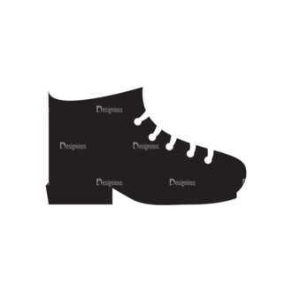 Metro Expedition Icons Set 1 Vector Shoes Clip Art - SVG & PNG vector