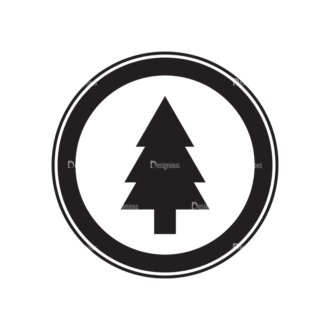 Metro Expedition Icons Set 1 Vector Tree Clip Art - SVG & PNG tree