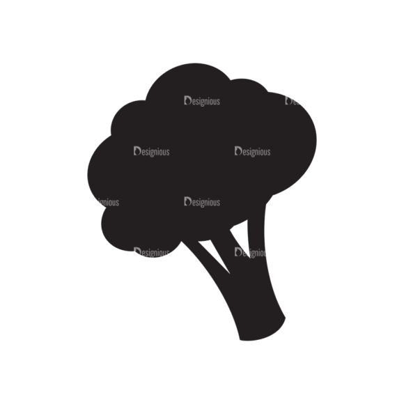 Metro Farming Icons 1 Vector Broccoli 1