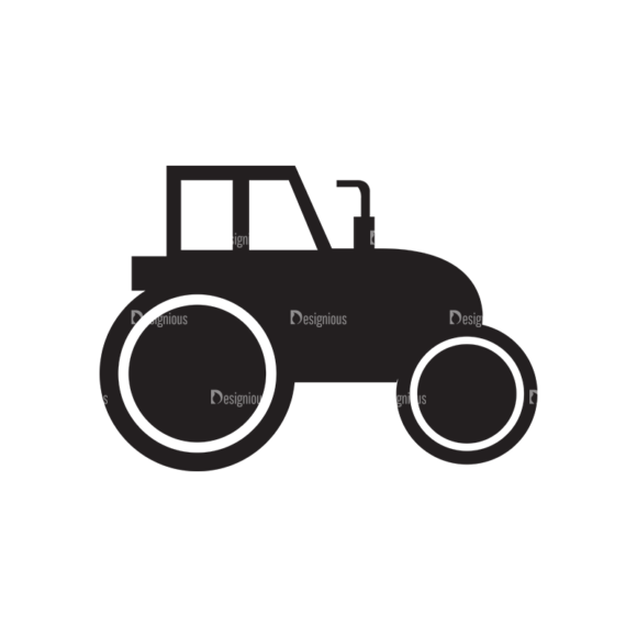 Metro Farming Icons 1 Vector Truck 1