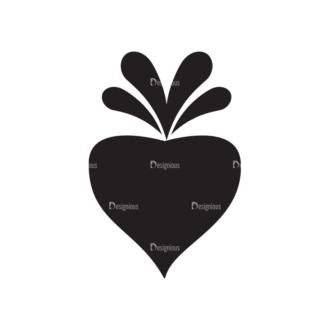 Metro Farming Icons 2 Vector Carrot Clip Art - SVG & PNG vector