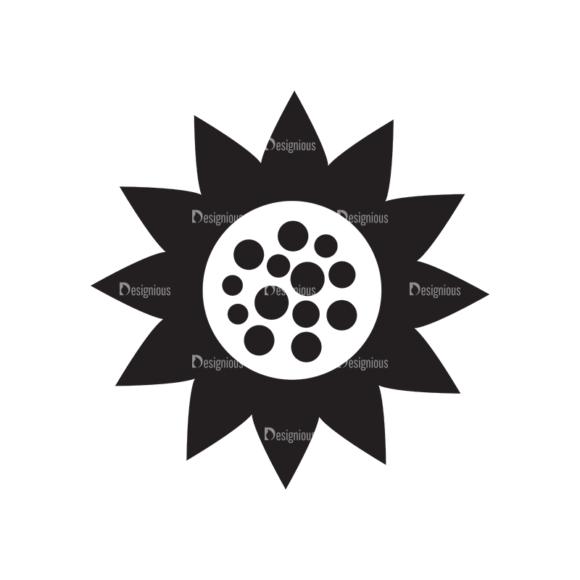 Metro Farming Icons 2 Vector Sunflower 1