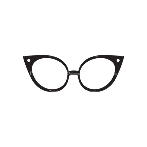 Metro Fashion Icons 1 Vector Eyeglasses 1