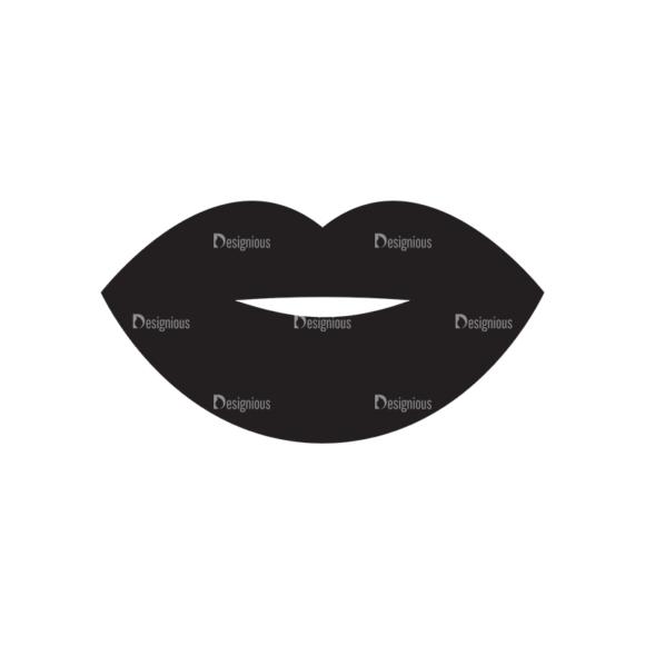 Metro Fashion Icons 1 Vector Lipss 1