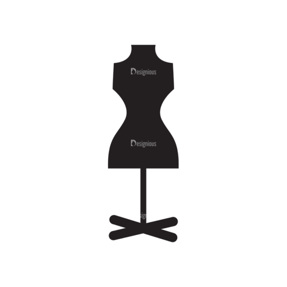 Metro Fashion Icons 1 Vector Mannequin 1