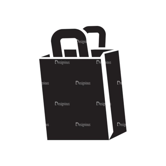 Metro Fashion Icons 1 Vector Paper Bag 1
