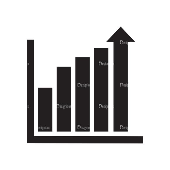 Metro Finance Icons 1 Vector Chart 5