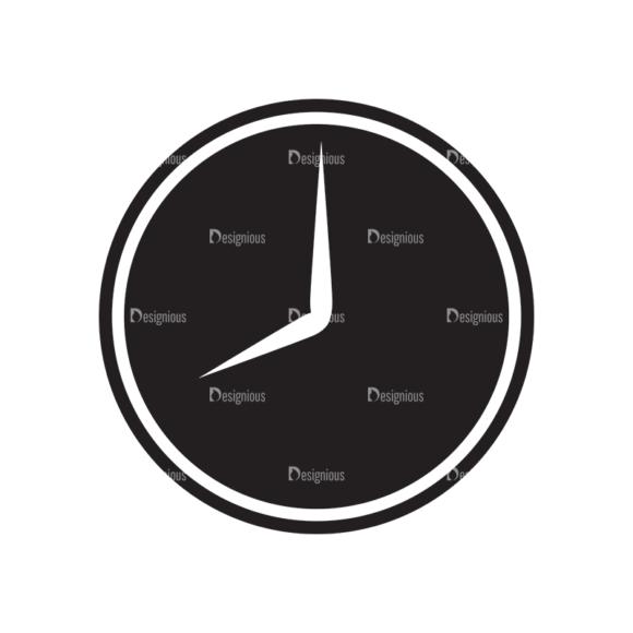 Metro Finance Icons 1 Vector Clock 1