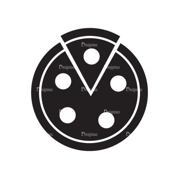 Metro Food Icons 1 Vector Pizza 1