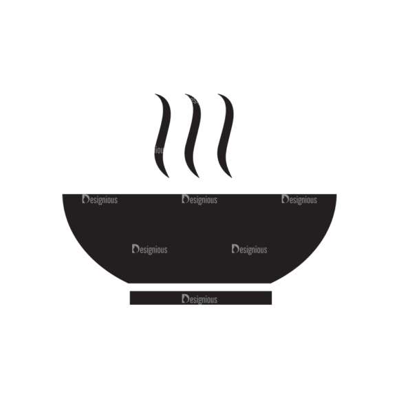 Metro Food Icons 1 Vector Soup 1
