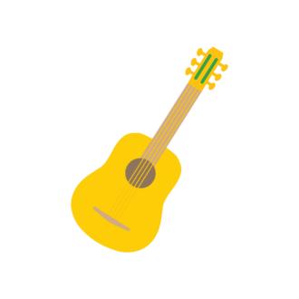 Mexico City Vector Guitar Clip Art - SVG & PNG city