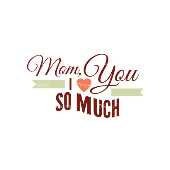 Mother'S Day Typographic Elements Vector Text 02 mothers day typographic elements vector text 02