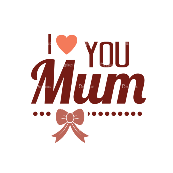 Mother'S Day Typographic Elements Vector Text 03 5