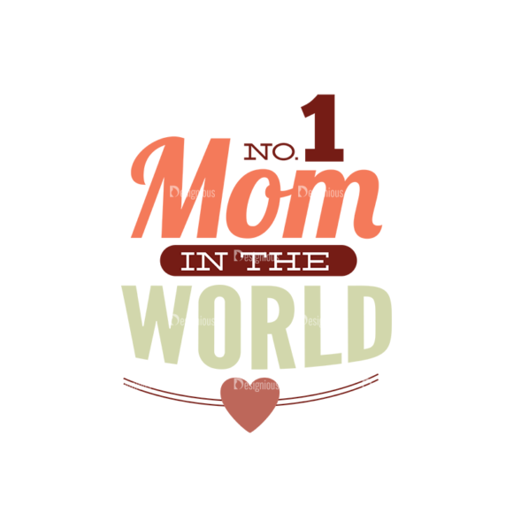 Mother'S Day Typographic Elements Vector Text 04 5