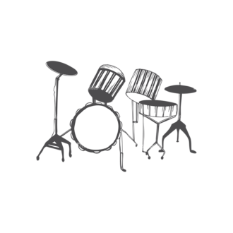 Music Vector 1 25 Clip Art - SVG & PNG vector