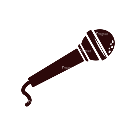 Music Vector Elements Set 1 Vector Microphone 1