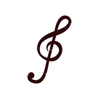 Music Vector Elements Set 1 Vector Notes 03 Clip Art - SVG & PNG vector