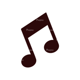 Music Vector Elements Set 1 Vector Notes 04 Clip Art - SVG & PNG vector