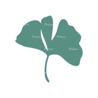 Nature Cute Icons Set 1 Vector Leaf 06 Clip Art - SVG & PNG leaf
