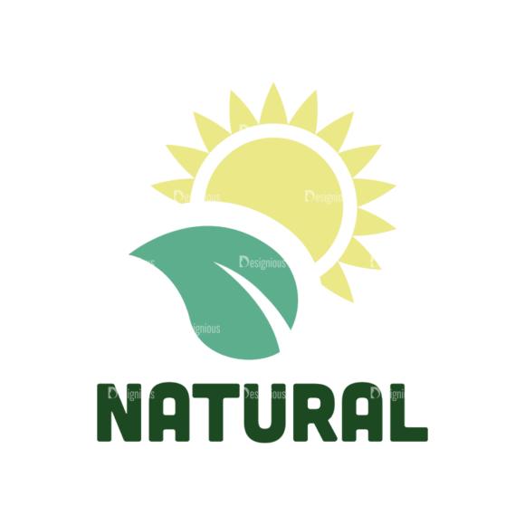 Nature Elements Vector Logo 08 1
