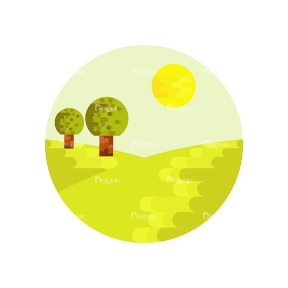 Nature Landscapes Set 1 Vector Landscape 04 1