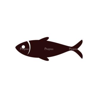 Nature Vector Elements Set 1 Vector Fish Clip Art - SVG & PNG vector