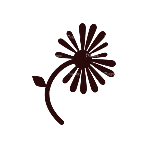 Nature Vector Elements Set 1 Vector Flower 1
