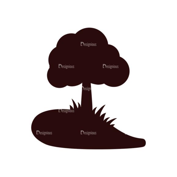 Nature Vector Elements Set 1 Vector Tree 1