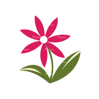 Nature Vector Set 2 Vector Flowers 21 Clip Art - SVG & PNG vector