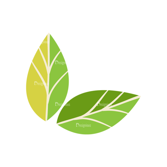 Nature Vector Set 2 Vector Leaves 09 1