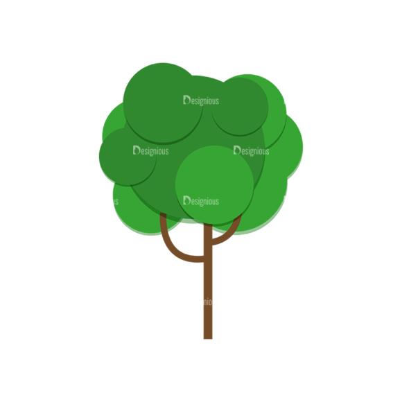 Nature Vector Set 2 Vector Tree 06 1