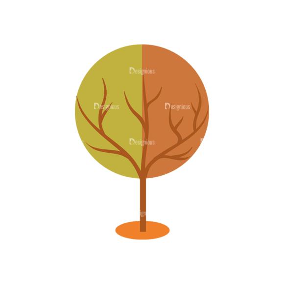 Nature Vector Set 2 Vector Tree 13 1