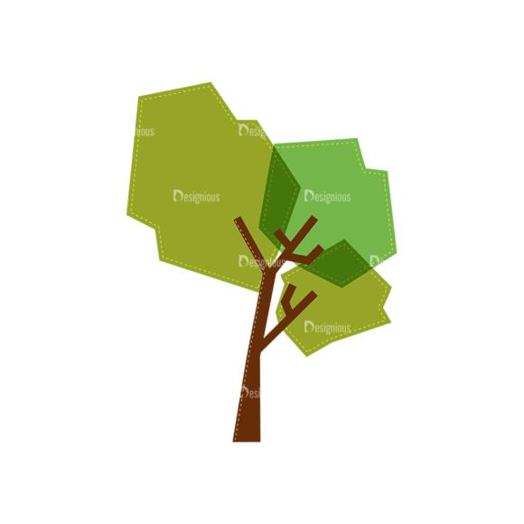 Nature Vector Set 2 Vector Tree 17 1