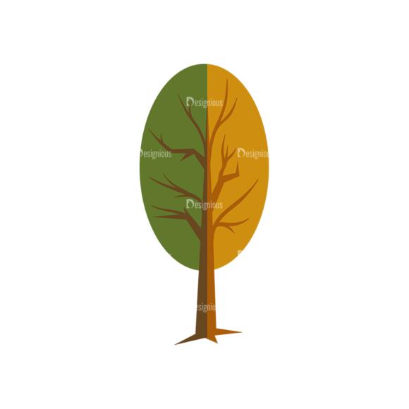 Nature Vector Set 2 Vector Tree 19 1