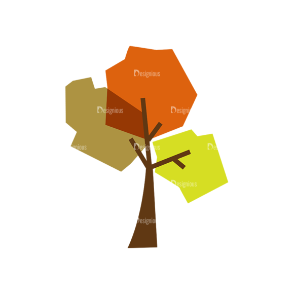 Nature Vector Set 2 Vector Tree 22 1